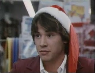All I want for Christmas is Keanue Reeves in my bed.