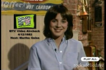 I'm Martha Quinn and I'm adorable!