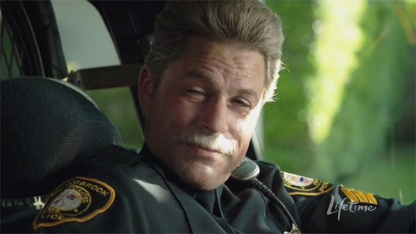 Unfortunately, Rob Lowe did not sport a sweet stache as he did in his other Lifetime gig Drew Peterson: Untouchable.