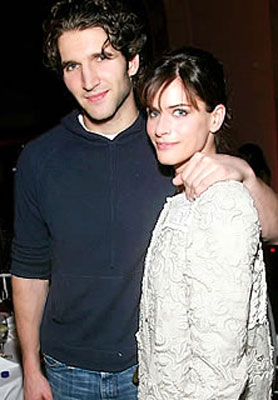 And he's married to Amanda Peet, who I will love forever for her part in Something's Gotta Give.