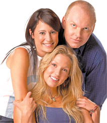 Degrassi fans--we can only DREAM that Snake is Emma's real dad. Nope, Spike had to bang Shane in grade 9.