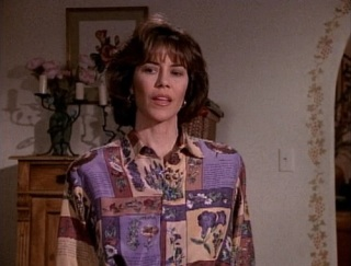 She borrowed that shirt from Parker Lewis.