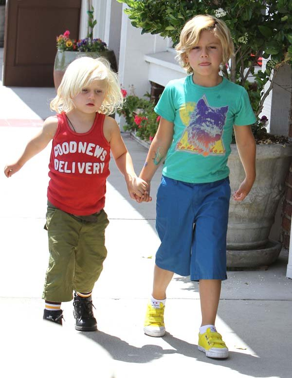 kingston and zuma rossdale are too cool for me the dvr files