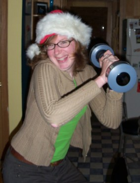 I'm also good with the Shake Weight.
