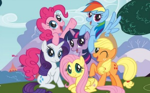 When did the ponies become such coquettes?