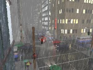 Rain should always look this artistic.