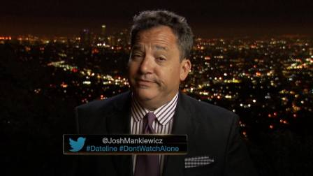Though Josh Mankiewicz is the one I'd most want to get drunk with, preferably at a tiki bar. He just seems like the type.