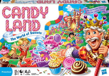 Thank F---ing God I don't live in Candy Land.