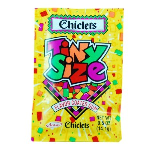 But let's be honest. All the cool kids were chewing Chiclets.