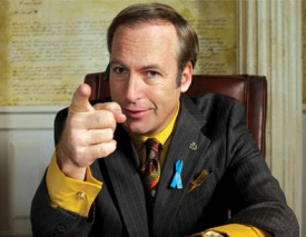 Then he'd have to call Saul!