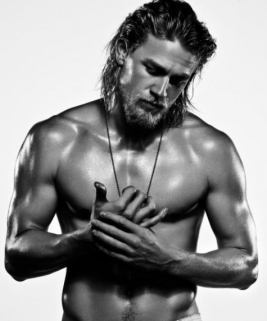 There will be no Charlie Hunnam, but he's one of those evil Brits anyway.
