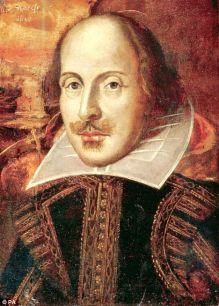 According to google image search, that's Bill Shakespeare. But whatever, could just as easily be Geoff Chaucer.